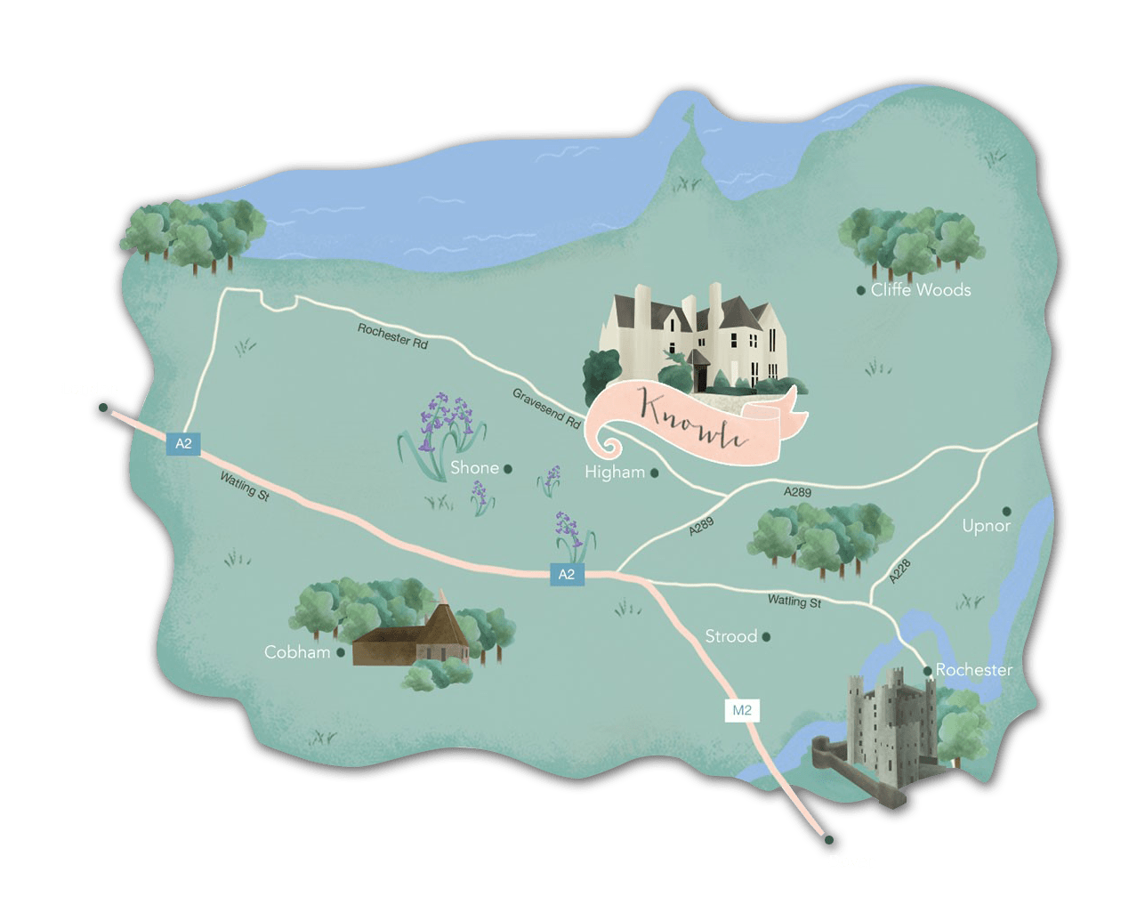 The Knowle Map